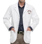 Men's White Consultation Labcoat