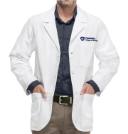 Men's White Consultation Labcoat