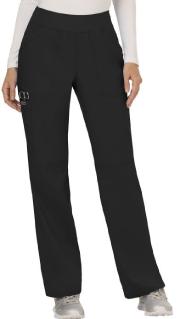 Women's Black Pull-On Scrub Pant