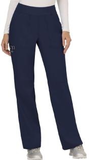 Women's Navy Pull-On Scrub Pant