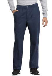 Men's Navy Scrub Pant