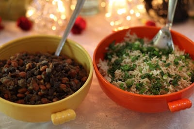 Day of the Dead Enhanced Rice & Beans Recipe