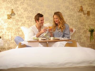 Breakfast in Bed.  For Dinner.
