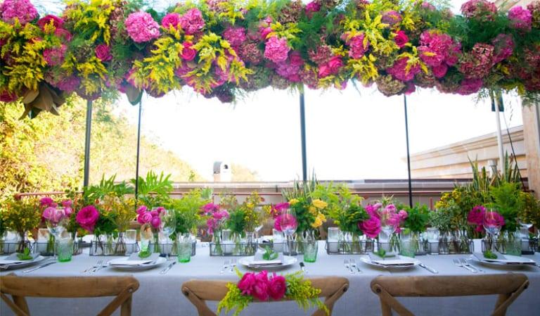 A Floral Birthday Dinner