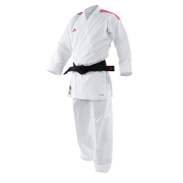 ADIDAS KARATE ADILIGHT K191SK WITH BLUE AND RED STRIPES