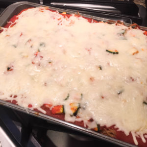Dinner for 9 for Under $9! {Baked Spaghetti}
