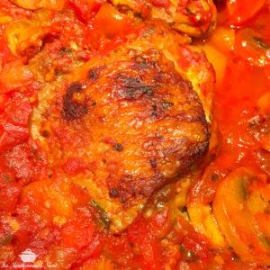 Chicken Cacciatore {Whole30} {Paleo}