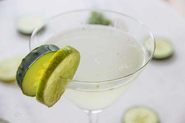 Cucumber Mojito {Mocktail} {Whole30} {Vegan}
