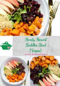 Hearty Harvest Buddha Bowl {Vegan}