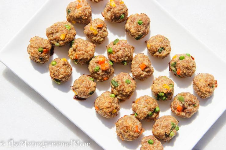 Toddler Turkey Meatballs {Gluten-free}