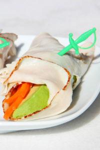 Turkey Avocado Wraps {Whole30} {Paleo}