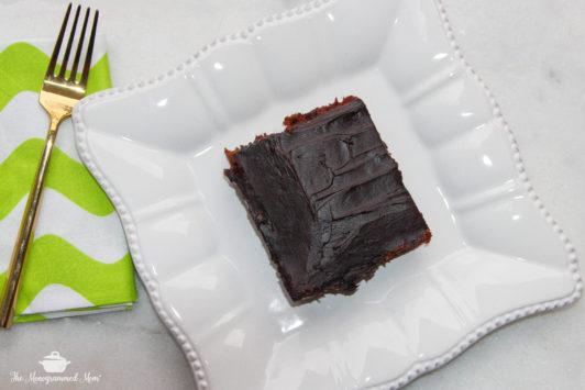 The Monogrammed Mom: Chocolate Zucchini Cake