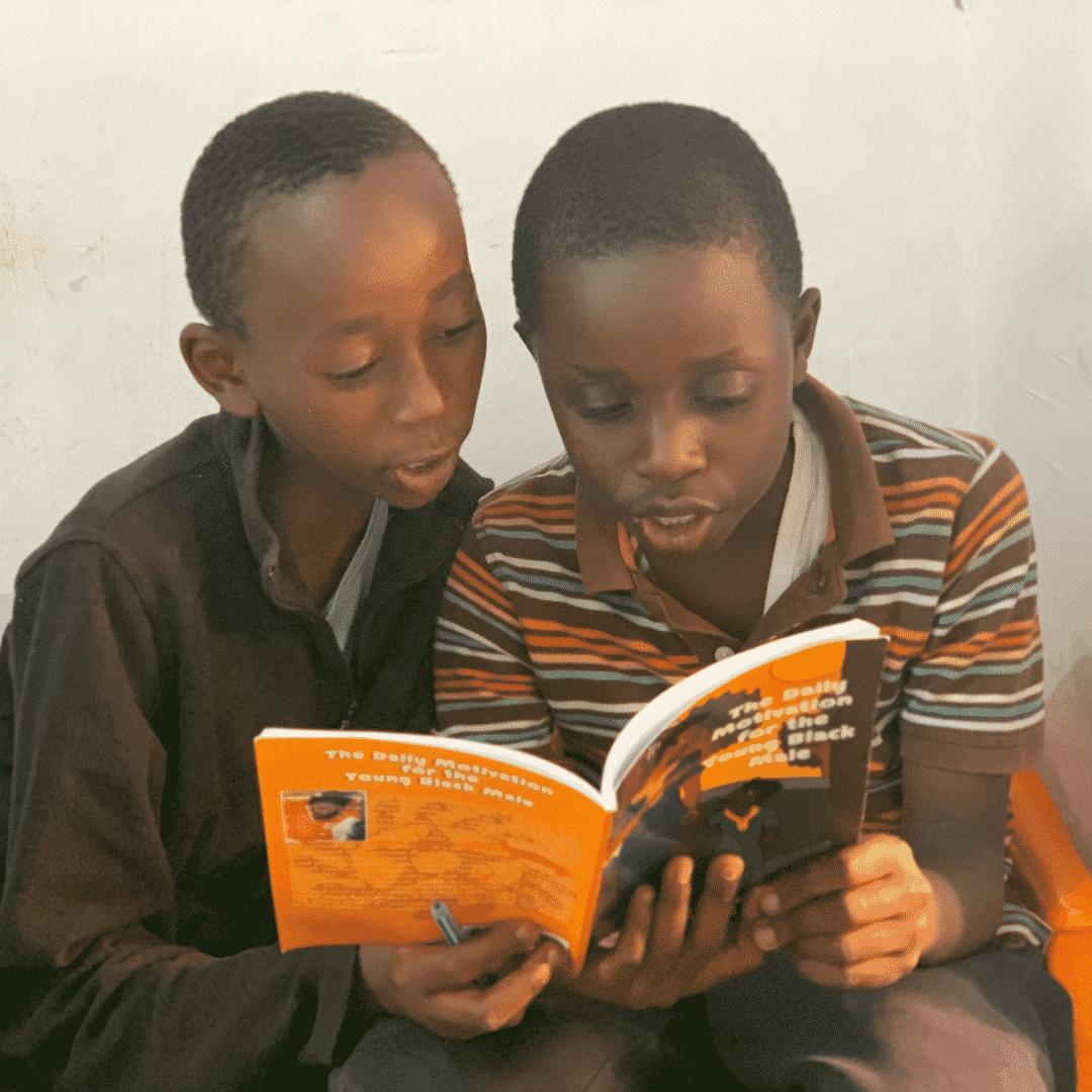 Kids reading Daily motivation