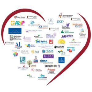 Give Local Keep Local Arizona Charitable Tax Credit Coalition Organization Heart Display