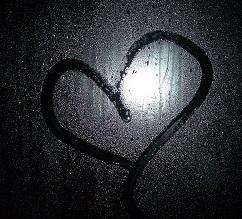 heartondarkrainywindow
