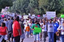 Randall Daluz Ferguson Protestors