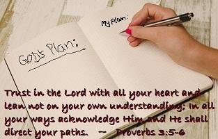 God's Plan versus My Plan