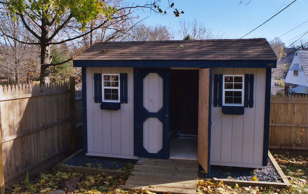 Carriage-House Shed by Quaker Sheds