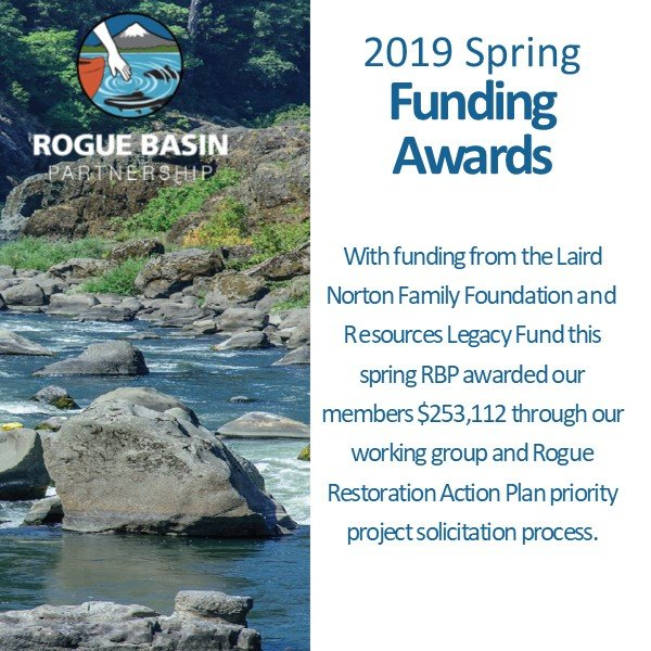 RBP awards over $250,000 to member groups for restoration projects
