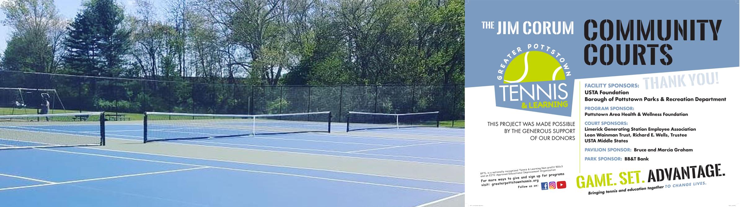 New Maple St. Park Tennis Courts