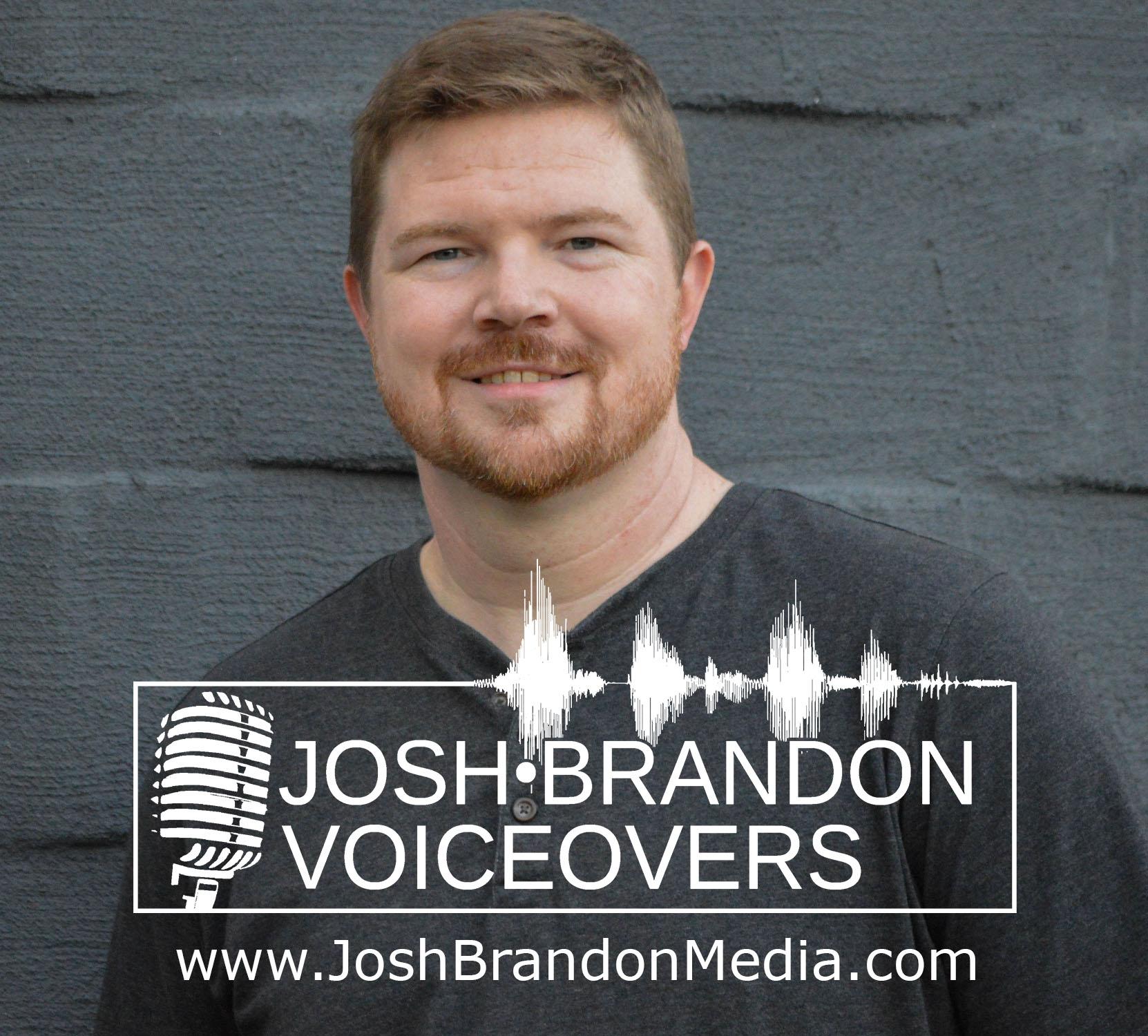 Josh Brandon Voiceovers, Voice Artist, Actor, Consultant
