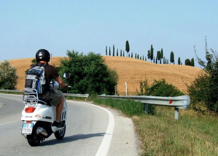 🏆 Vespa and Chianti Tour