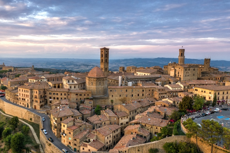 Private San Gimignano and Volterra