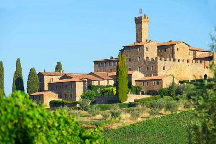 Castello Banfi / Il Borgo - Montalcino (Chianti region) 🔝