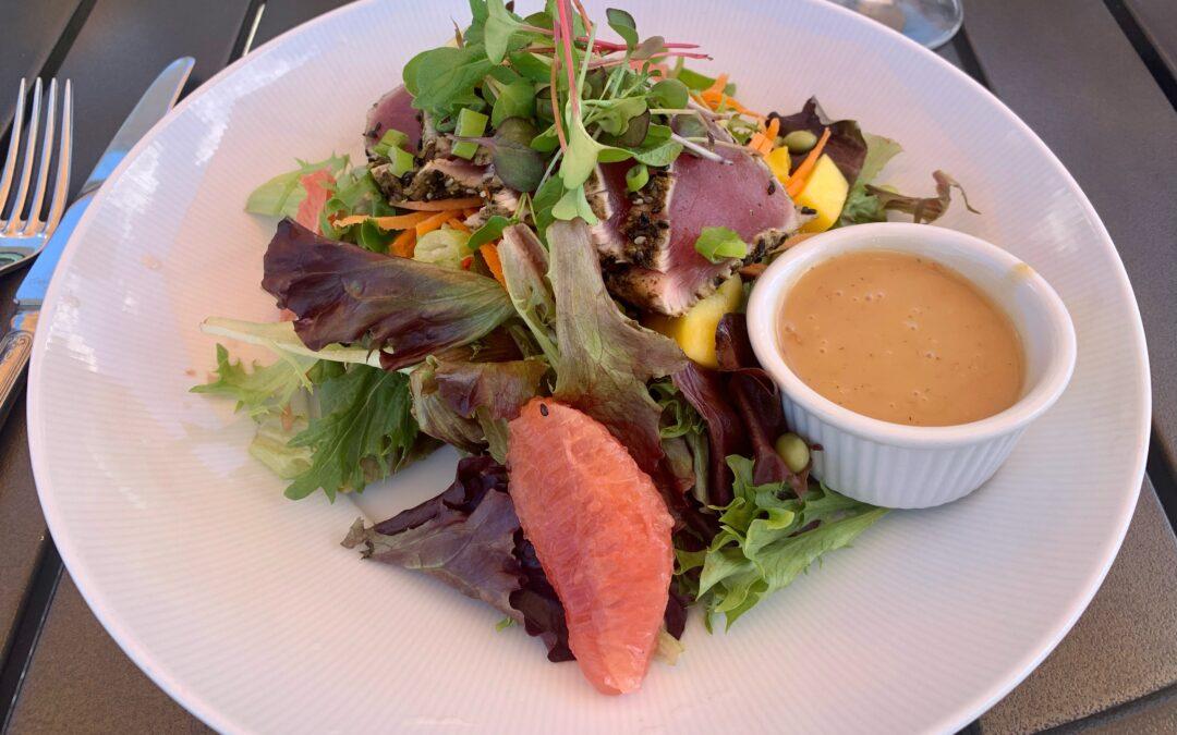 Chef Tony's Seared Ahi Tuna Spa Salad