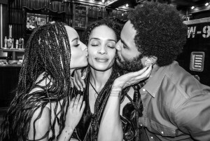 lenny & lisa with grown daughter