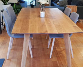 Dining table with chair set image