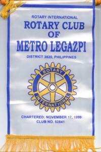 Metro Legazpi Rotary