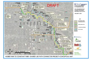 Conceptual Map of the Proposed Route