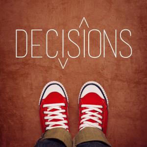 Youth Decision Making Concept, Top View