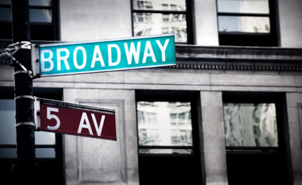 The Broad Ways of New York