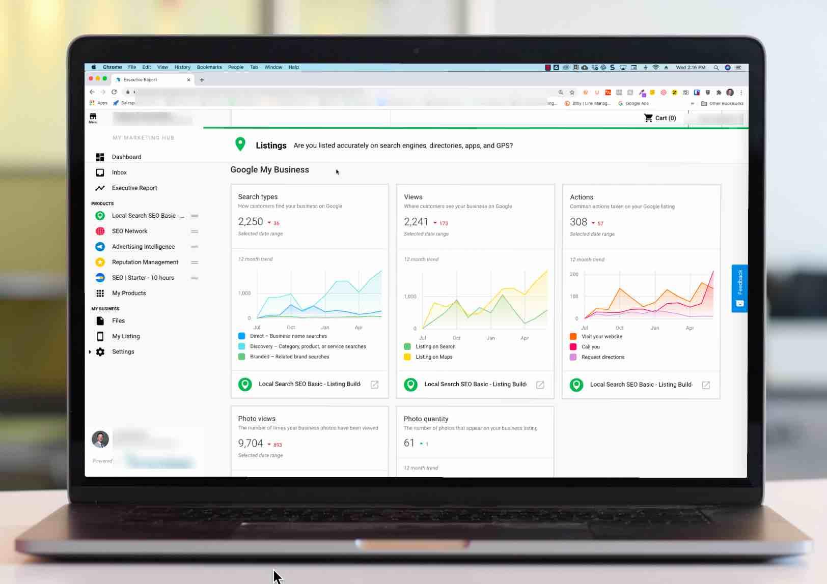 best seo platform for google my business improvements BizFinder