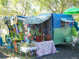 Glamping at Swiftwater RV Park in White Bird, Idaho