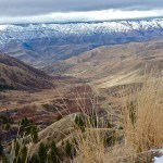 Pittsburg Saddle View into Hells Canyon