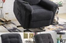 Norman Power Lift Recliner by Coaster