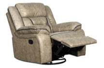 ROSWELL SWIVEL GLIDER RECLINER – By New Classic