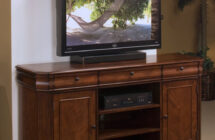 Sheridan Entertainment Console by New Classic Furniture