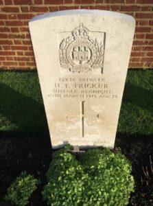 H T Tricker headstone