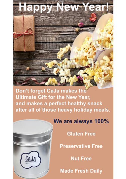 Harlem Boy Media Design Caja Popcorn eBlast Graphic 1
