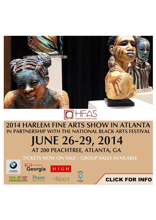 Harlem Boy Media Design Harlem Fine Arts Show Digital Ad 2