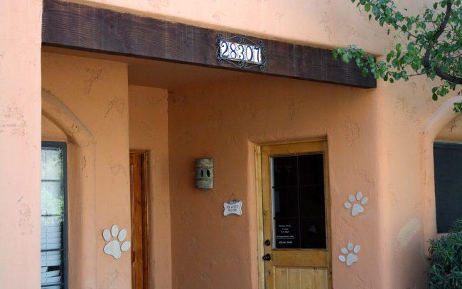 Office entrance.