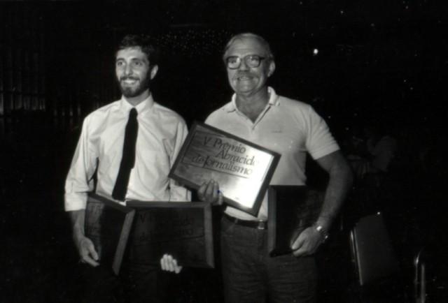 Em 1986, dois prêmios Abraciclo, dois para cada um. (Foto Acervo Marazzi / Motostory)