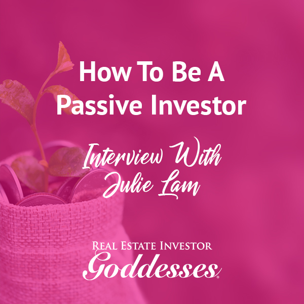 REIG Julie   Becoming A Passive Investor