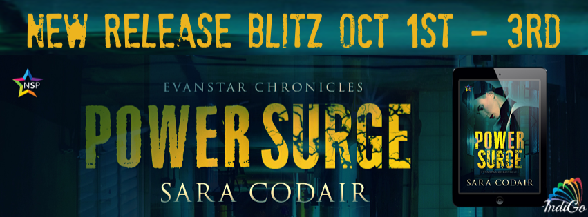 Release Bits & Giveaway: Sara Codair's Power Surge
