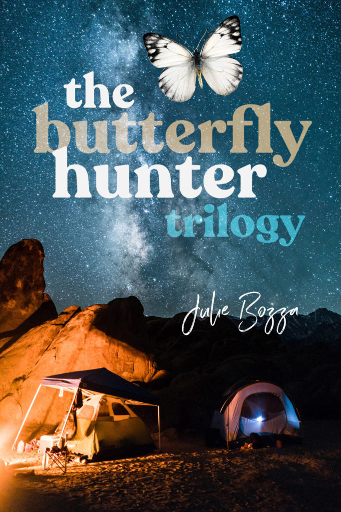 The Butterfly Hunter Trilogy LT - FINAL eBook cover