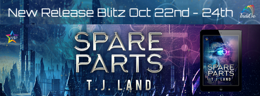 Release Blitz & Giveaway: T.J. Land's Spare Parts